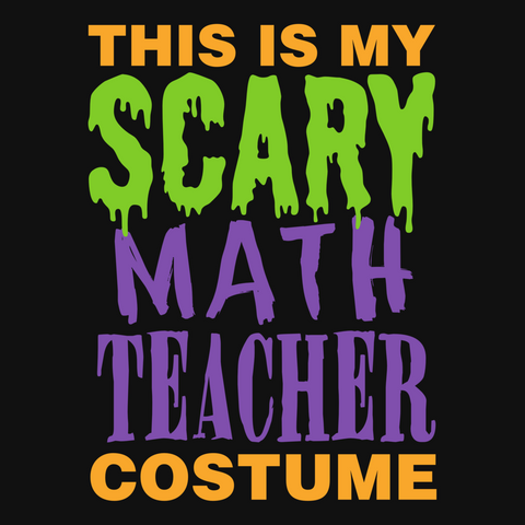 Math - Halloween Costume -  - 9