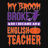 English - My Broom Broke -  - 13