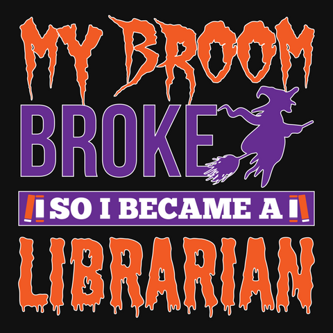 Librarian - My Broom Broke -  - 13