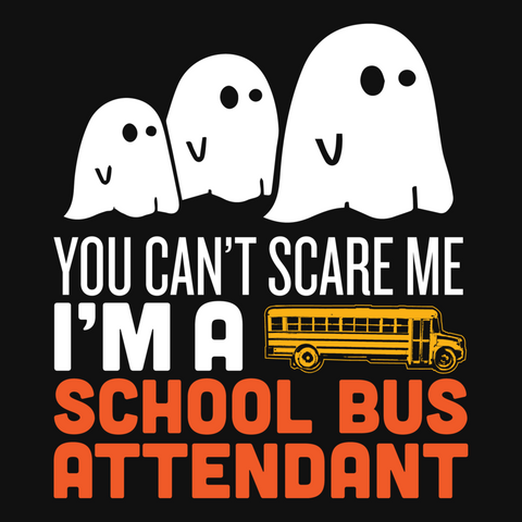 School Bus Attendant - Halloween Ghost -  - 9