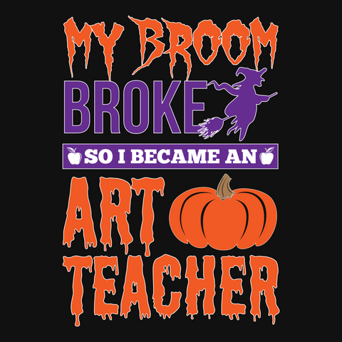 Art - My Broom Broke -  - 13
