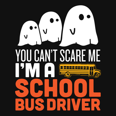 School Bus Driver - Halloween GhostT-shirt - Keep It School - 9