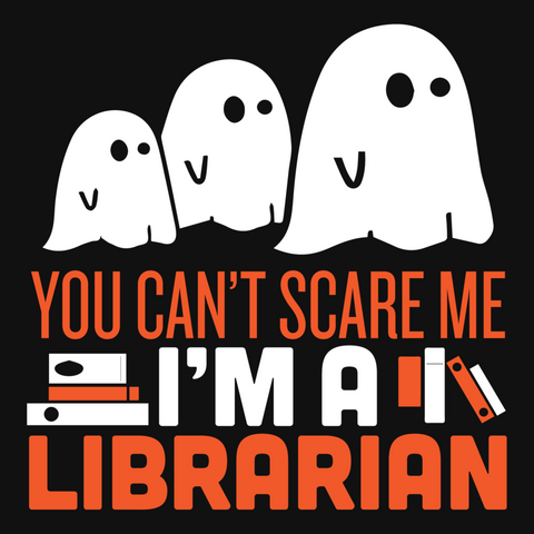Librarian - Halloween GhostT-shirt - Keep It School - 9