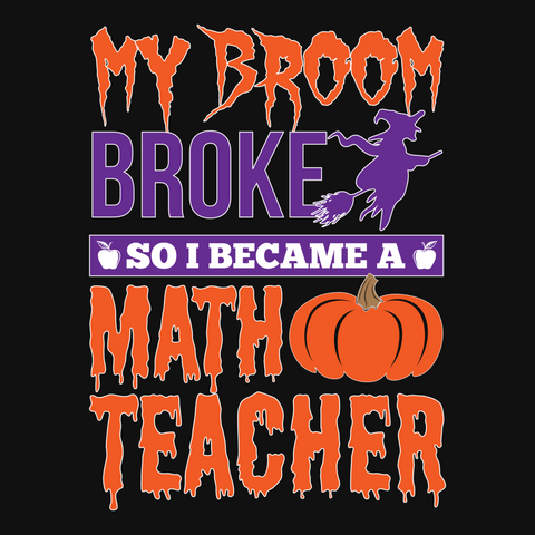 Math - My Broom Broke -  - 13