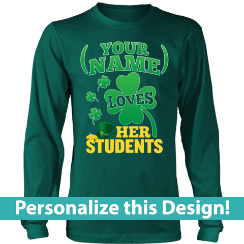 Teacher - St. Patrick's Day Students -  - 1