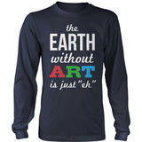 Art - Earth Without Art - District Long Sleeve / Navy / S - 10