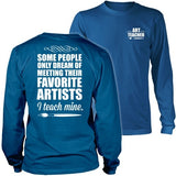 Art - I Teach Mine - District Long Sleeve / Royal Blue / S - 33