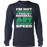 Art - Normal Speed - District Long Sleeve / Navy / S - 10