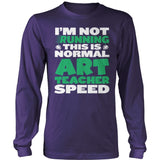Art - Normal Speed - District Long Sleeve / Purple / S - 11