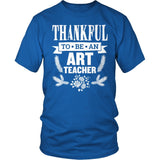 Art - Thankful - District Unisex Shirt / Royal Blue / S - 9