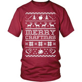 Art - Ugly Sweater 2 - District Unisex Shirt / Red / S - 6