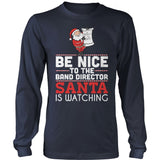Band - Be Nice Holiday - District Long Sleeve / Navy / S - 2