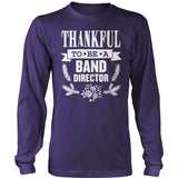 Band - Thankful - District Long Sleeve / Purple / S - 11
