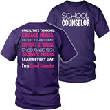 Counselor - Engage Minds - District Unisex Shirt / Purple / S - 10