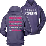Counselor - Engage Minds - Hoodie / Purple / S - 2