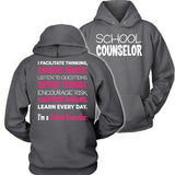 Counselor - Engage Minds - Hoodie / Charcoal / S - 3