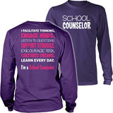 Counselor - Engage Minds - District Long Sleeve / Purple / S - 5