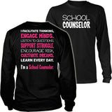 Counselor - Engage Minds - District Long Sleeve / Black / S - 6