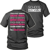 Counselor - Engage Minds - District Unisex Shirt / Charcoal / S - 7