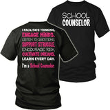 Counselor - Engage Minds - District Unisex Shirt / Black / S - 8