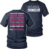 Counselor - Engage Minds - District Unisex Shirt / Navy / S - 9