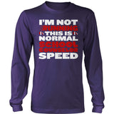 Counselor - Normal Speed - District Long Sleeve / Purple / S - 11