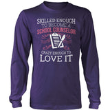 Counselor - Skilled Enough - District Long Sleeve / Purple / S - 11