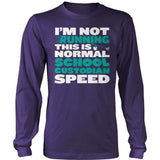 Custodian - Normal Speed - District Long Sleeve / Purple / S - 11
