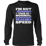 Elementary - Normal Speed - District Long Sleeve / Black / S - 9