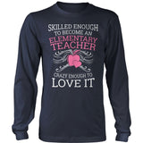 Elementary - Skilled Enough - District Long Sleeve / Navy / S - 10