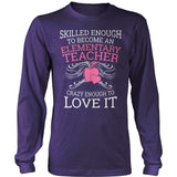 Elementary - Skilled Enough - District Long Sleeve / Purple / S - 11