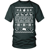 Elementary - Ugly Sweater - District Made Womens Shirt / Forest Green / S - 6