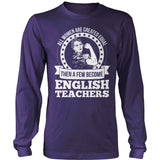 English - Created Equal - District Long Sleeve / Purple / S - 11