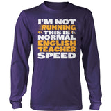English - Normal Speed - District Long Sleeve / Purple / S - 11