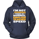 English - Normal Speed - Hoodie / Navy / S - 13