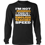 English - Normal Speed - District Long Sleeve / Black / S - 9