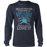 English - Skilled Enough - District Long Sleeve / Navy / S - 10