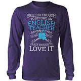 English - Skilled Enough - District Long Sleeve / Purple / S - 11