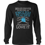 English - Skilled Enough - District Long Sleeve / Black / S - 9