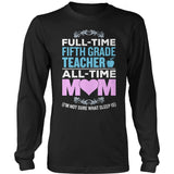 Fifth Grade - Full Time - District Long Sleeve / Black / S - 9