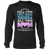 First Grade - Full Time - District Long Sleeve / Black / S - 9