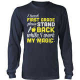 First Grade - Magic - District Long Sleeve / Navy / S - 10