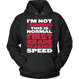 First Grade - Normal Speed - Hoodie / Black / S - 12