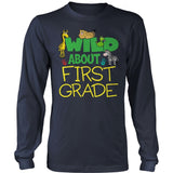 First Grade - Wild - District Long Sleeve / Navy / S - 10