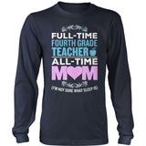Fourth Grade - Full Time - District Long Sleeve / Navy / S - 10