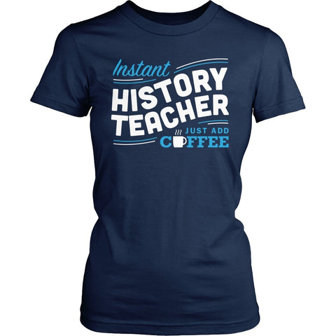 History - Instant - District Made Womens Shirt / Navy / S - 1