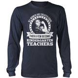 Kindergarten - Created Equal - District Long Sleeve / Navy / S - 10