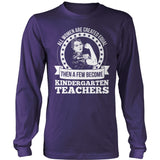 Kindergarten - Created Equal - District Long Sleeve / Purple / S - 11