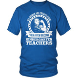 Kindergarten - Created Equal - District Unisex Shirt / Royal Blue / S - 8