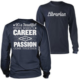 Librarian - Beautiful Thing - District Long Sleeve / Navy / S - 10